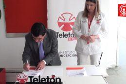Convenio entre Municipo y Teletón hará realidad la telerehabilitación para menores en Cañete.