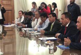Alcaldes de la provincia de Arauco piden al gobierno un plan especial para reactivar el desarrollo del territorio.