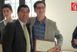 Municipio de Cañete reconoció a los estudiantes que obtuvieron buenos resultados en la PSU.