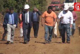 Cinco familias cañetinas se verán beneficiadas con la construcción de camino en el sector La Antena de Llenquehue