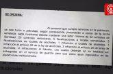 Se anunció sumario administrativo por polémico instructivo para sacar partes en Cañete.