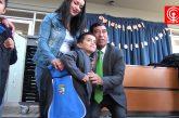 Estudiantes de escuela Leoncio Araneda de Cañete recibieron implementación para mejorar aprendizajes.