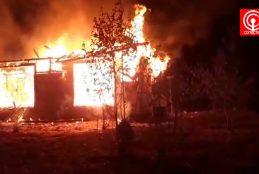 Fiscalía busca dar con los responsables de quema de 2 cabañas en Tirúa.