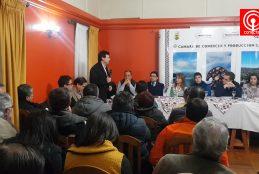 Gremios productivos del Cono Sur de la provincia de Arauco exigen al gobierno frenar los ataques incendiarios.