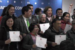 Un total de 185 beneficiados de la provincia de Arauco fueron apoyados por fondos de desarrollo indígena que impulsa la CONADI