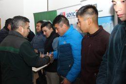 VEINTE INTERNOS DE LA UNIDAD PENAL DE ARAUCO SE CAPACITARON EN TÉCNICAS DE CONSTRUCCIÓN