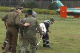 Dos Carabineros de Fuerzas Especiales fueron heridos con armas de fuego cuando despejaban ruta en Cañete