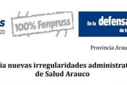 TRABAJADORES DE LA SALUD DENUNCIAN GRAVE IRREGULARIDAD DEL SERVICIO DE SALUD ARAUCO EN CONTRATACIÓN DE MILLONARIO SERVICIO A HONORARIOS